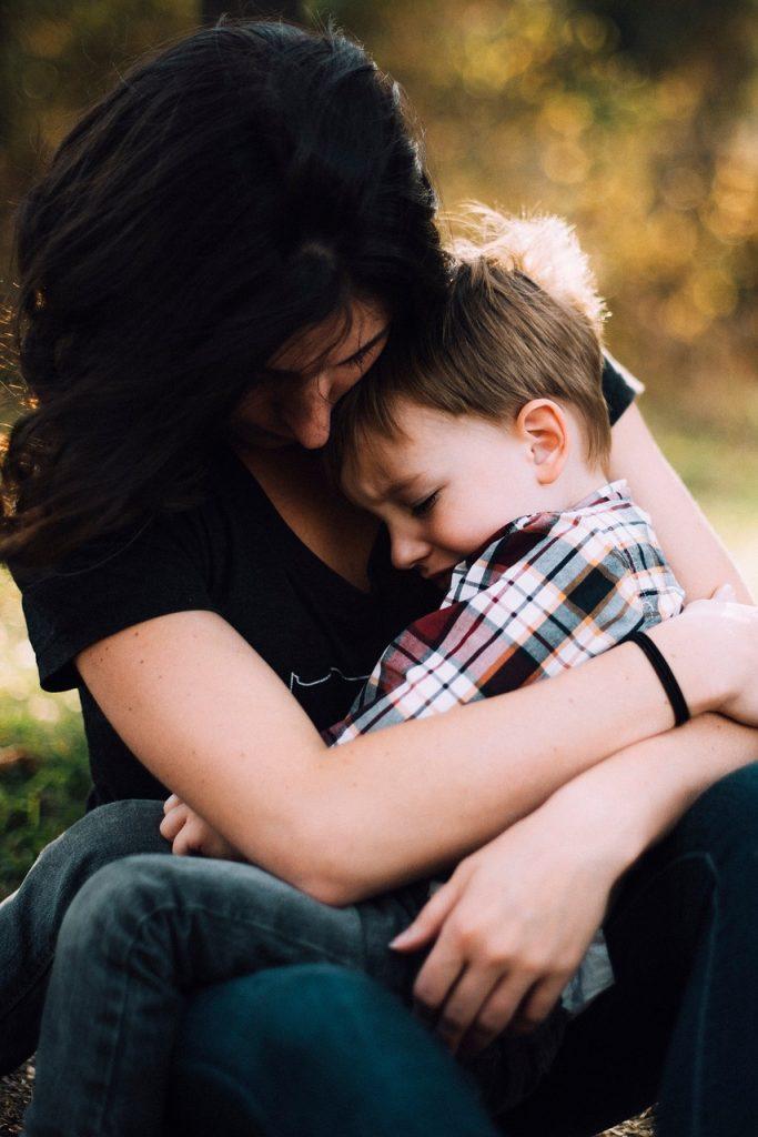 pomanjkanje samozavesti pri otroku